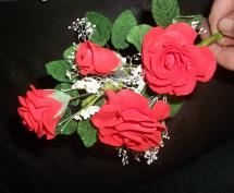 Sugar Roses and leafs